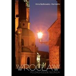 Wrocław po zachodzie słońca. PL