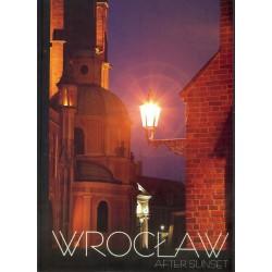 Wrocław po zachodzie słońca. (język angielski)