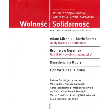 Wolność i Solidarność. 4/2012