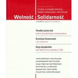 Wolność i Solidarność. 6/2013