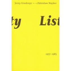 Listy. Jezry Giedroyc - Zdzisław Najder