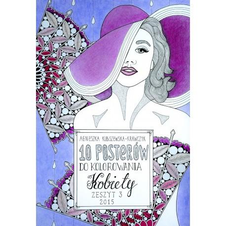 10 posterów do kolorowania. Kobiety zeszyt 3