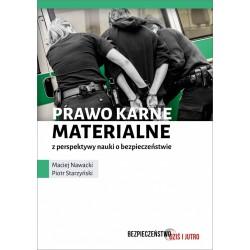 Prawo karne materialne z perspektywy nauki o bezpieczeństwie