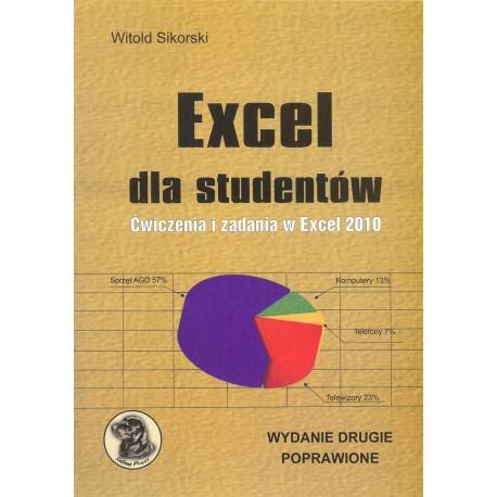 Excel dla studentów Ćwiczenia i zadania w Excel 2010 (wydanie 2)