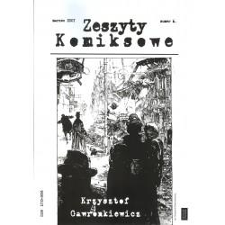 Zeszyty komiksowe 6 Krzysztof Gawronkiewicz (wydanie drugie)