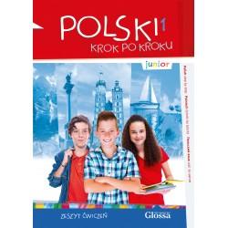 Polski krok po kroku. Junior 1 zeszyt ćwiczeń