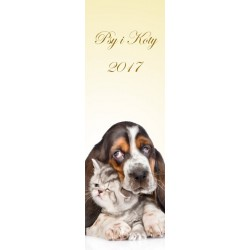 Kalendarz 2017 Psy i koty
