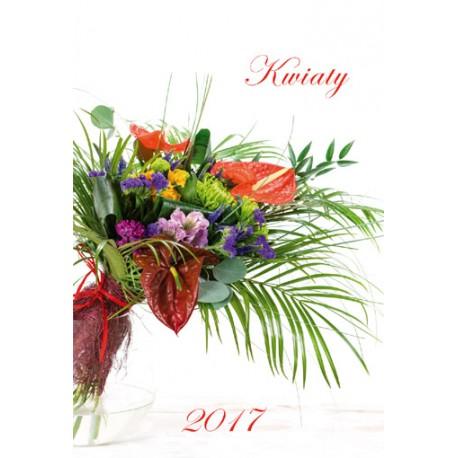 Kalendarz 2017 Kwiaty