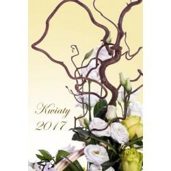 Kalendarz 2017 Kwiaty (13 plansz)