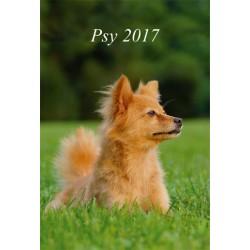 Kalendarz 2017 Psy (13 plansz)