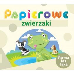 Papierowe zwierzaki. Farma, las, łąka
