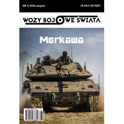 Wozy bojowe świata 4/2016 Merkawa