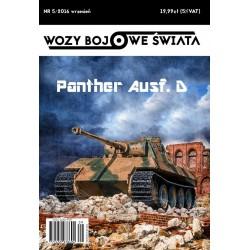 Wozy bojowe świata 5/2016 Panther Ausf. D