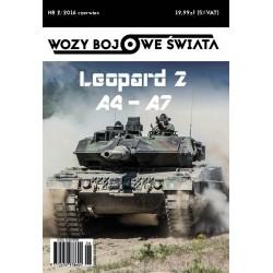 Wozy bojowe świata 2/2016 Leopard 2 A4-A7