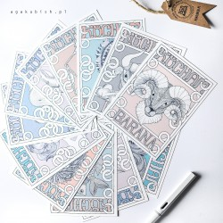 Kartki Zodiak