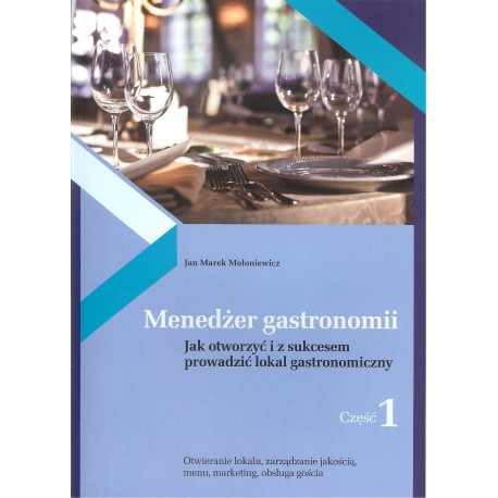 Menedżer gastronomii cz. 1 i 2 KOMPLET