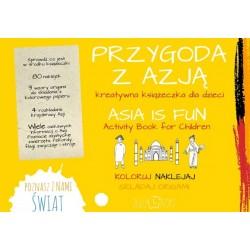 Przygoda z Azją - kreatywna książeczka