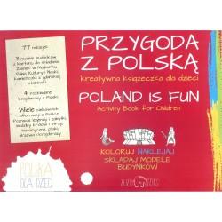 Przygoda z Polską - książeczka kreatywna