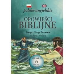 Opowieści biblijne polsko-angielskie + CD