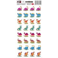 Naklejki Alfika i Zetki 1 Dinozaury
