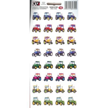 Naklejki Alfika i Zetki 10 Traktory