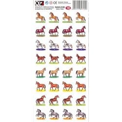 Naklejki Alfika i Zetki 18 Konie
