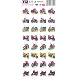Naklejki Alfika i Zetki 20 Motocykle
