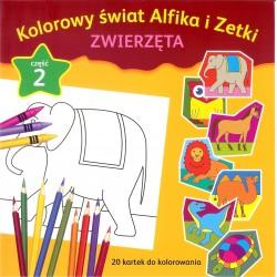 Kolorowy świat Alfika i Zetki zwierzęta cz.2