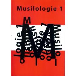 Musilologie 1