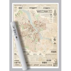 Mapa Warszawa 1935