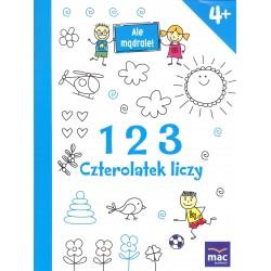 123 Czterolatek liczy