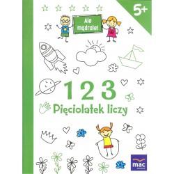 123 Pięciolatek liczy