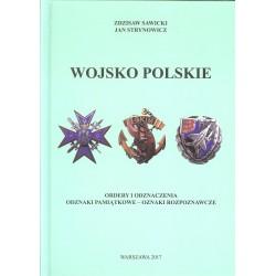Wojsko Polskie. Ordery i odznaczenia. Odznaki pamiątkowe - oznaki rozpoznawcze.