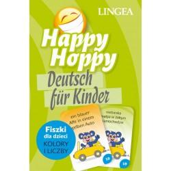 Happy Hoppy fiszki dla dzieci. Niemiecki, część 2: Kolory i liczby
