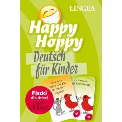 Happy Hoppy fiszki dla dzieci. Niemiecki, część 1: Cechy i relacje