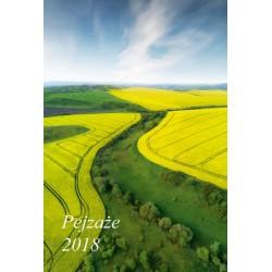 Kalendarz 2018 Pejzaże (7 plansz)