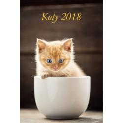 Kalendarz 2018 Koty (13 plansz)
