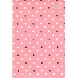 Kalendarz dzienny, różowy
