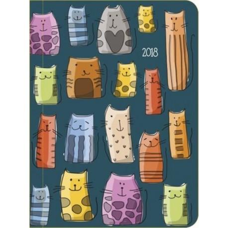 Kalendarz dzienny, kotki