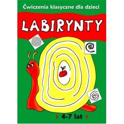 Labirynty. Ćwiczenia klasyczne dla dzieci