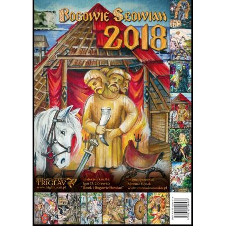 2018 Kalendarz Bogowie Słowian