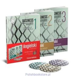 Angielski w tłumaczeniach Business. Komplet książek 1, 2, 3