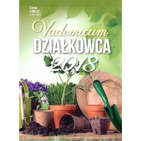 Kalendarz Vademecum działkowca 2018 (duże)