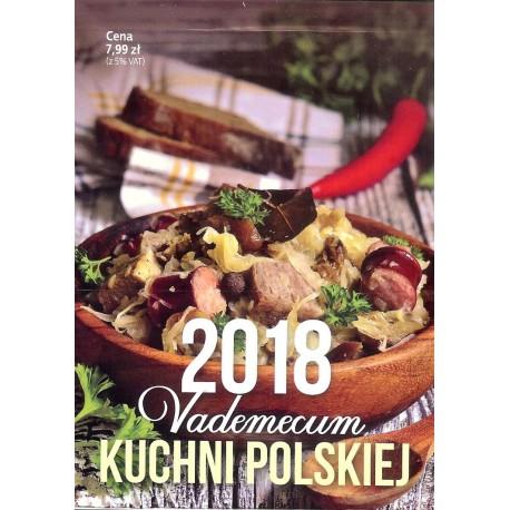 Kalendarz Vaemecum kuchni polskiej 2018