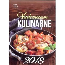 Kalendarz Vademecum kulinarne (duże) 2018