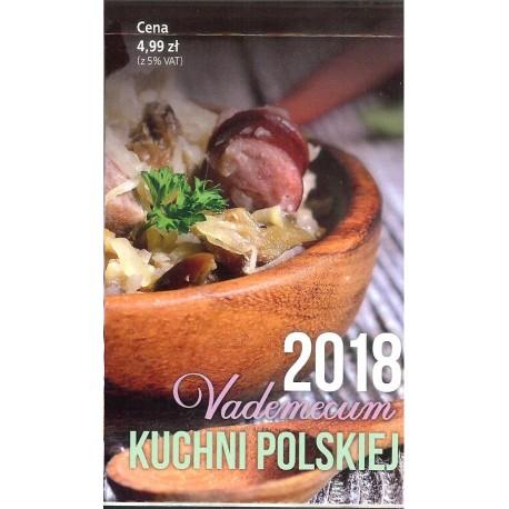 Kalendarz Vademecum kuchni polskiej 2018
