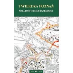 Mapa Twierdza Poznań