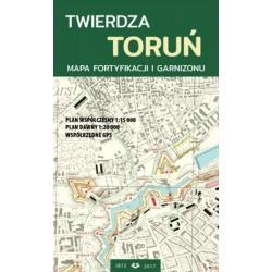 Mapa Twierdza Toruń