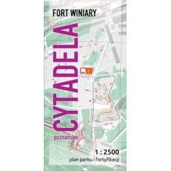 Mapa Cytadela Poznańska