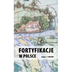 Mapa Fortyfikacje w Polsce